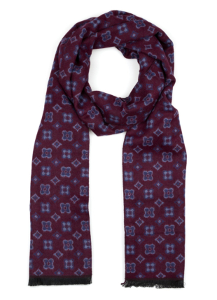 CUSHYFLAKE Dark red scarf