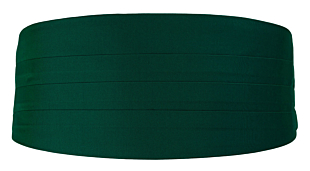 SOLID Dark green gördel