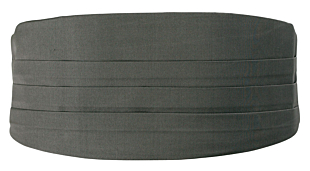 SOLID Dark grey gördel