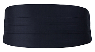 SOLID Dark navy gördel
