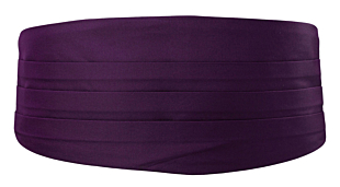SOLID Dark purple gördel