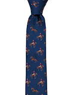 TIEQUESTRIAN Blue smal slips