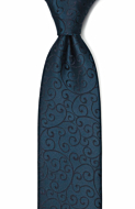 SNAZZY Dark blue klassisk slips