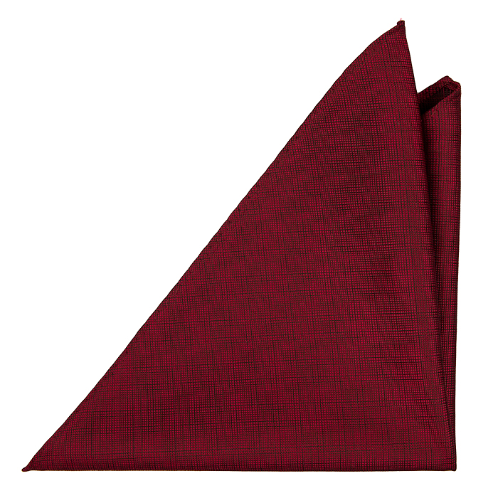 Bröstnäsduk, Notch Étienne har röd botten med ett mycket diskret rutmönster i svar